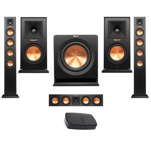 Klipsch RP-440WF HD Wireless Floorstanding Speaker (Pair) Bundle