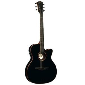 Lag Tramontane T100ASCE Auditorium Slim Cutaway Acoustic-Electric Guitar