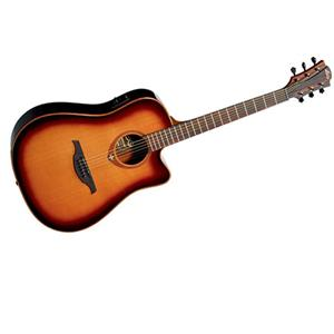 Lag Tramontane T100DCE Dreadnought Cutaway Electro Acoustic-Electric Guitar