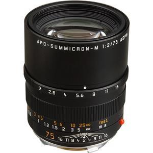 Leica 11637 APO-SUMMICRON-M 75mm f/2.0 Telephoto Lens: Picture 1 regular