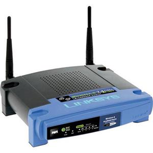 Linksys WRT54GL 54Mbps 4-Port Linux Version Wireless Router - Certified Refurbished