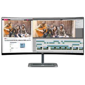 "$685 LG Electronics 34UC87C-B 34"" Curved Ultra Wide Monitor"