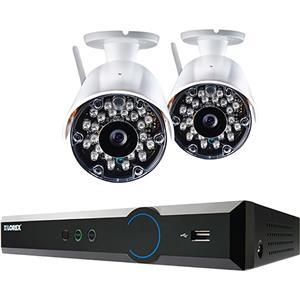 LOREX 4 Channel 960H WIRELESS Surveillance System 1 TB HDD Indoor Outdoor Camera