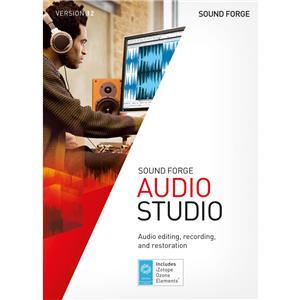 Magix Sound Forge Audio Studio 12 Editing Software, Single