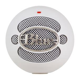 Blue Microphones Snowball Professional USB Condenser Microphone for Mac & Windows (White)