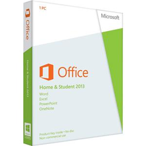 microsoft office 2013 home/student 32/64-bit (product key) 79g-03550