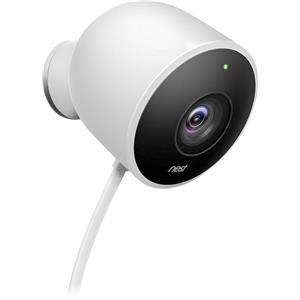 Nest Cam Outdoor 1080p HD Day / Night 2-Way Audio Cloud Storage Security Camera