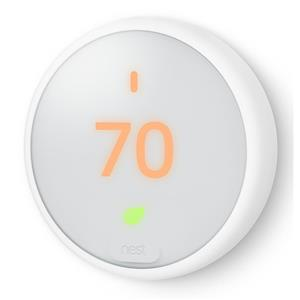 Nest E Smart Thermostat + Google Home Mini
