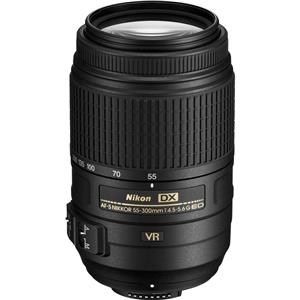 Nikon AF-S DX Nikkor 55-300mm f/4.5-5.6G ED Vibration Reduction Zoom Lens