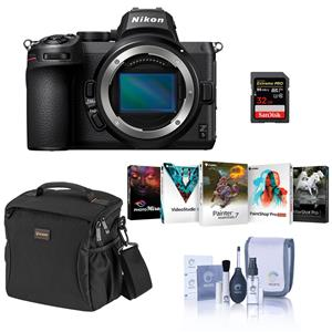 Nikon Z5 4K UHD Mirrorless Digital Camera Body Bundle