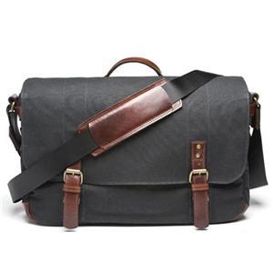 Ona The Union Street Camera And Laptop Bag Black Ona5 003bl