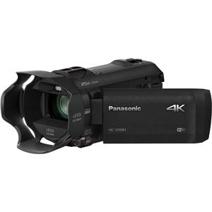 Panasonic HC-VX981K 4K Ultra HD Hard Disk Drive SDXC/SDHC/SD Wi-Fi Camcorder with 20x Optical Zoom & 3