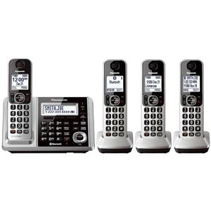 Panasonic KX-TGF374S Link2Cell Bluetooth 4-Handset Cordless Answering System
