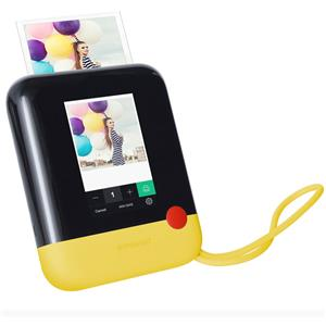 Polaroid POLPOP1Y 20MP FHD Digital Camera with ZINK Printing Technology (Yellow)
