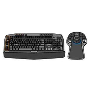 e6c9c4a05bf Pelco VideoXpert Enhanced Keyboard & 3D Mouse Combo A1-KBD-3D-KIT
