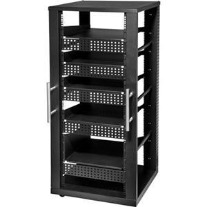 Peerless 30u Av Component Rack System Four 2u Shelves
