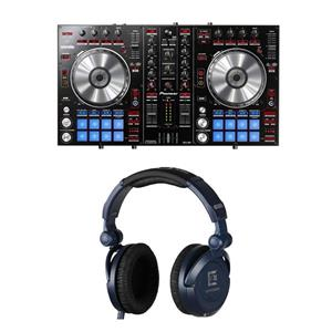 Pioneer DDJ-SR Electronics 2-Channel Performance DJ Controller + Sennheiser HD8 DJ Headphones