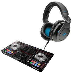 Pioneer DDJ-SX2 4-Channel Performance Serato DJ Controller + Ultrasone PRO 900i Foldable Headphones