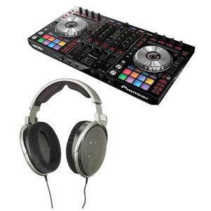 Pioneer Pro DDJ-SX2 4-Channel Performance Serato DJ Controller + Sennheiser HD 650 Stereo Headphone