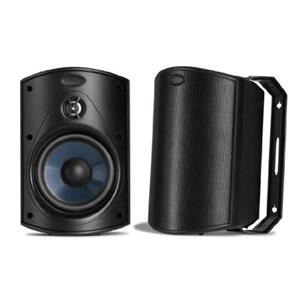 Polk Audio Atrium 4 All-Weather Outdoor Loudspeaker Pair (Black)