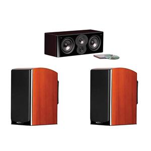 Polk Audio LSi M704c Center Channel Speaker + 2x Polk Audio Bookshelf Loudspeaker