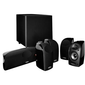 Polk Audio TL1600 5.1-Channel Compact Home Theater Speaker with Powered Subwoofer (Black)