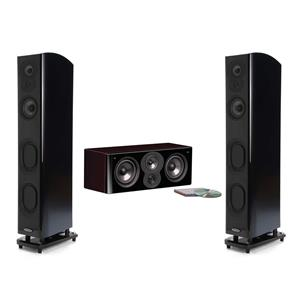 2 x Polk LSiM705 Tower Speaker + Polk LSiM704c Center Speaker