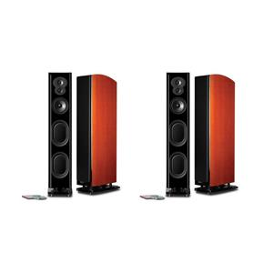 2-Pack Polk Audio LSi M 707 Floor Standing Speaker (Mt. Vernon Cherry)