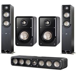 Polk Audio S50 Small Tower Speaker (Pair) Bundle