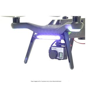 Polar Pro White Headlight/ Red Taillight for 3DR Solo Drone