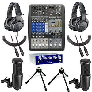 PreSonus StudioLive AR8 USB 8-Channel Hybrid Performance /& Recording Mixer with 1 Year Free Extended Warranty/and/Microfiber