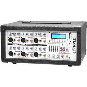 Pyle PMX640BT 6-Ch.Bluetooth DJ Mixer