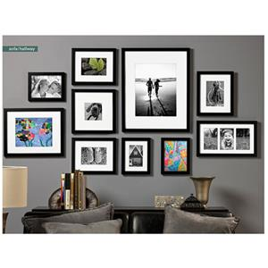 2860e181 Prinz Gallery Expressions Wood Frame 11x14 Matted To 8x10