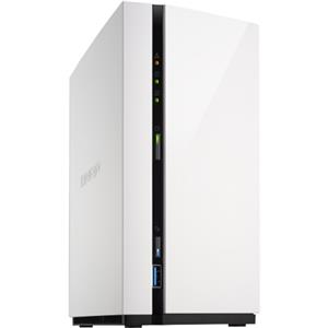QNAP TS-228A 2-Bay RAID 0 Cloud Network Attached Storage with Realtek