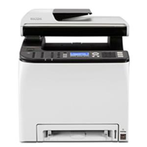 Ricoh SP C250SF Wireless Color Laser All-in-One Printer with Duplex (White)