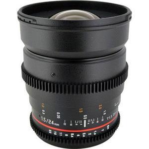 Rokinon CV24M-S 24mm T1.5 Cine Lens for Sony A-Mount + $7.78 Adorama.com Credit