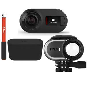 Rylo 5.8K 360 Degree Video Camera with Premium Accessory Bundle