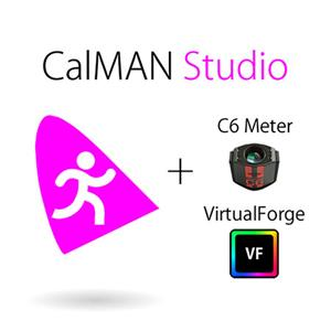 SpectraCal CalMAN Studio with SpectraCal C6 and VirtualForge SC