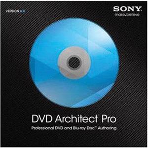 11-33136 Sony Creative Software DVD Architect Pro 6 0 DVD