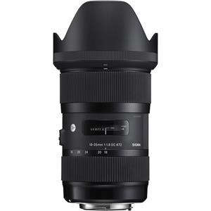 Deals on Sigma 18-35mm F/1.8 DC HSM ART Lens for Canon DSLR Cameras