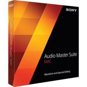 Sony Audio Master Suite Mac Waveform and Spectral Editing
