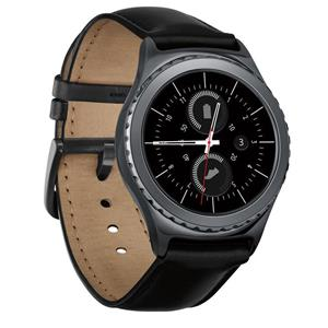 Samsung Gear S2 Classic Bluetooth Smartwatch with Heart Rate Monitor (Black) - Refurbished