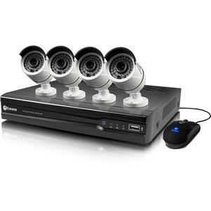 Swann 8 Channel 4 Camera Indoor/Outdoor Wired 2TB DVR Surveillance System