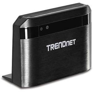 TRENDnet TEW-810DR AC750 Dual-Band Wireless Router (Black)