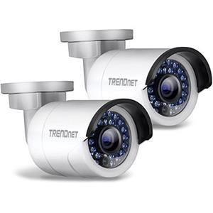 2 Pack TRENDnet TV-IP320PI2K 1.3MP HD PoE IR Network Camera