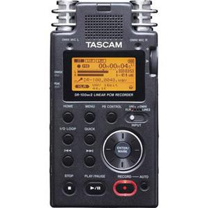 Tascam DR-100 Portable 2-Channel Linear PCM Recorder, Built-in Speaker, USB