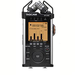Tascam DR-44WL 4-Channels Portable Handheld Audio Recorder