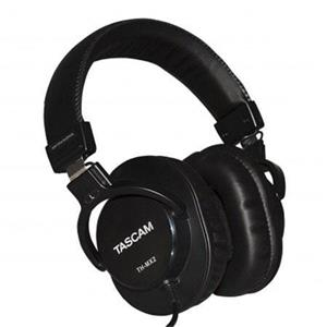 Tascam TH-MX2 Closed-Back Mixing Over-Ear Headphones (Black)