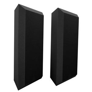 2-Pack Ultimate Acoustics Acoustic Bass Trap with Vinyl Coating (Bevel)