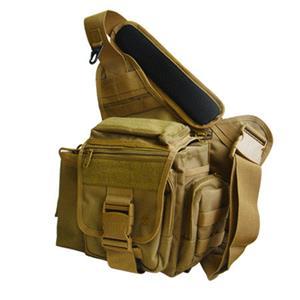 UTG Multi-functional Tactical Messenger Bag - Dark Earth
